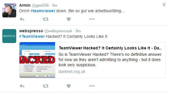 Teamviewer lại sập trên toàn thế giới vì bị hack?