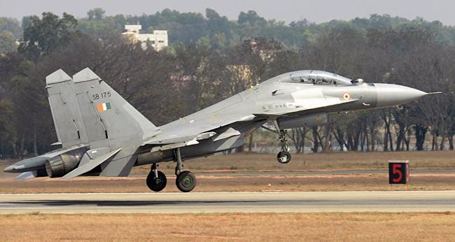 Su-30MKI của Không quân Ấn Độ