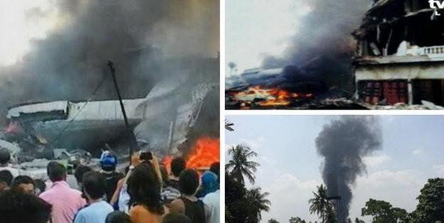 Máy bay Indonesia rơi trúng khách sạn, ít nhất 30 người chết - ảnh 6
