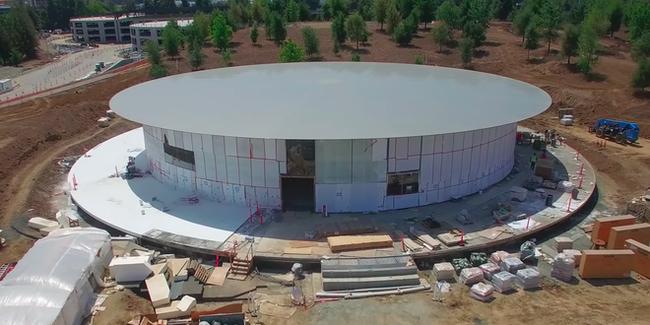 Trụ sở mới của Apple có thiết kế lấy cảm hứng từ MacBook Air - ảnh 2