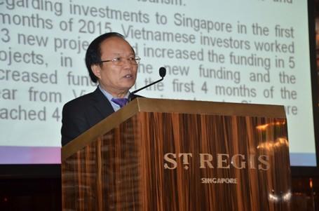 Bộ trưởng Hoàng Tuấn Anh: Sơn Đoòng gây ấn tượng mạnh tại Singapore - ảnh 1
