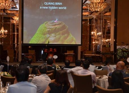 Bộ trưởng Hoàng Tuấn Anh: Sơn Đoòng gây ấn tượng mạnh tại Singapore - ảnh 2