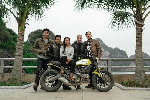 21 ngày xuyên Việt bằng xe máy của phượt thủ Mỹ - ảnh 1
