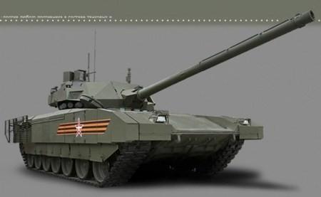 Siêu xe tăng Armata: Hổ thêm cánh - ảnh 1