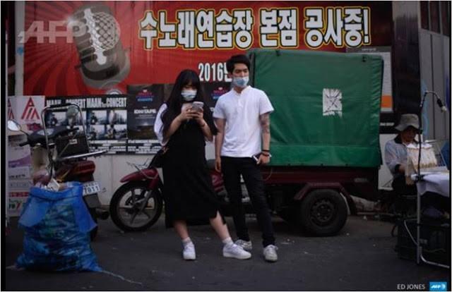Hàn Quốc 'ngập' khẩu trang vì MERS  - ảnh 5