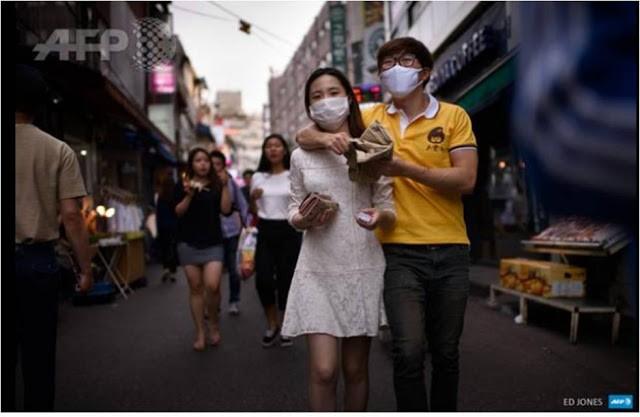 Hàn Quốc 'ngập' khẩu trang vì MERS  - ảnh 6