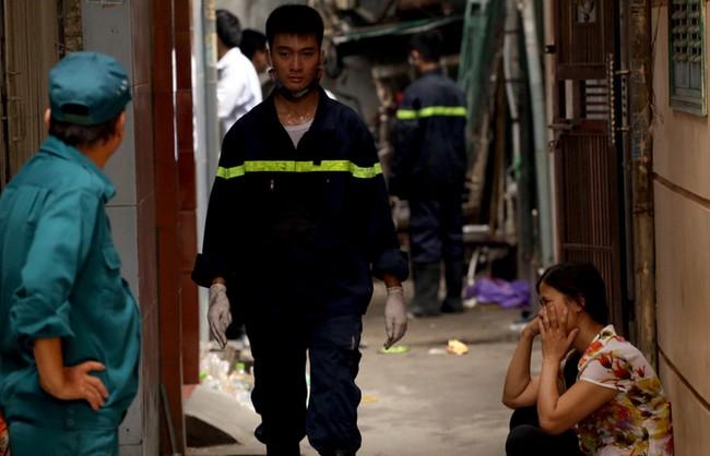 Hiện trường vụ hỏa hoạn khiến 5 người tử vong - ảnh 7