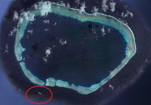 Trung Quốc đưa tàu chiến tới bãi đá Vành Khăn - ảnh 1