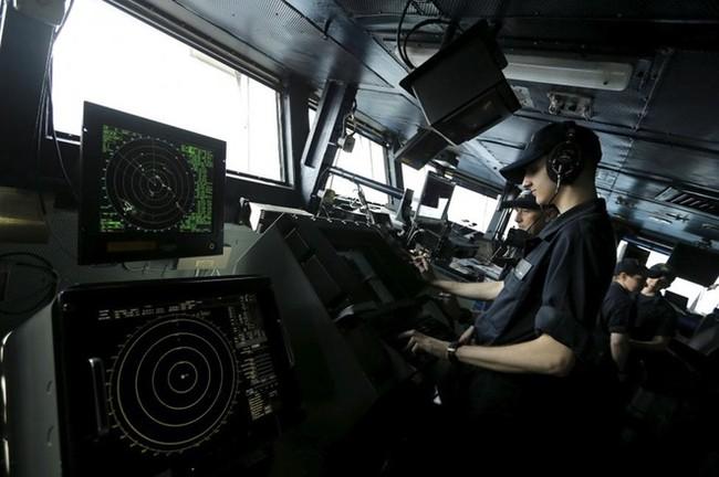 Một ngày trên tàu sân bay khổng lồ của Mỹ - ảnh 5