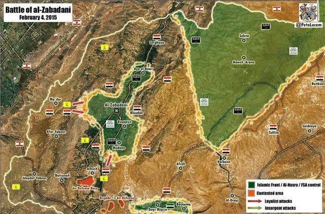 Hezbollah và quân đội Syria quyết chiến với phiến quân ở Zabadani - ảnh 1