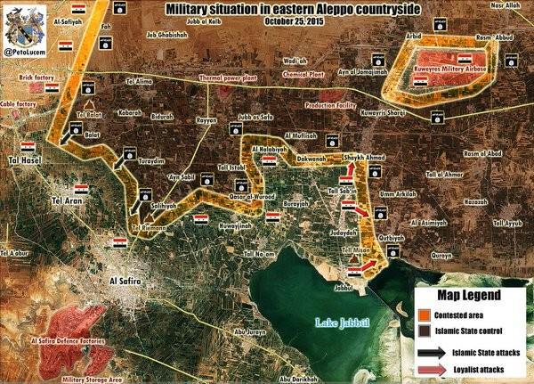 Chùm ảnh: Cuộc chiến ác liệt ở Syria ngày 25.10 - ảnh 2