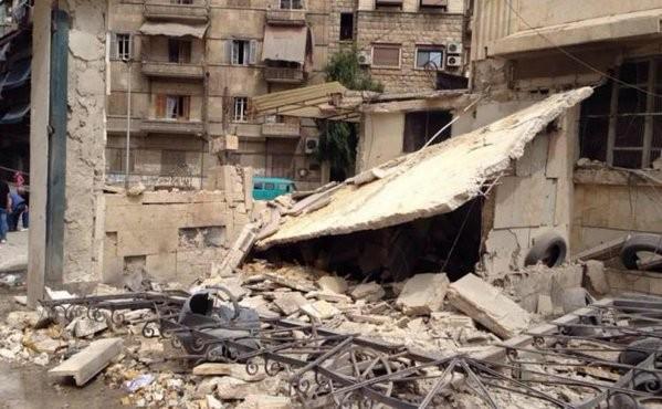 Chùm ảnh: Cuộc chiến ác liệt ở Syria ngày 25.10 - ảnh 4