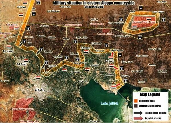 Chùm ảnh: Cuộc chiến ác liệt ở Syria ngày 25.10 - ảnh 5