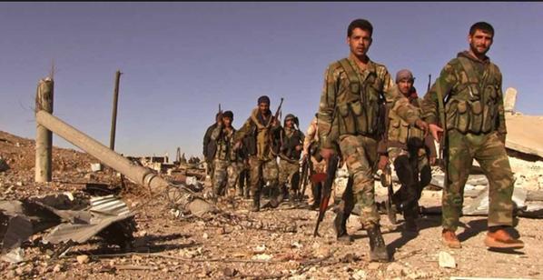 Chiến sự Syria, biến động bất thường trên các mặt trận chống khủng bố - ảnh 14