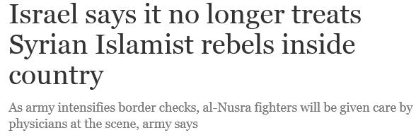 Nghi vấn Israel hỗ trợ các tổ chức Hồi giáo cực đoan ở Syria - ảnh 1