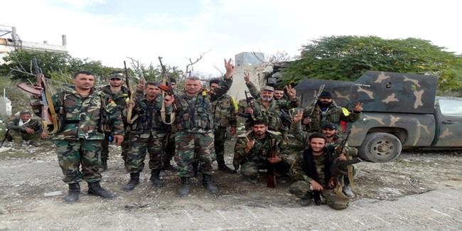 Quân đôi Syria nỗ lực tìm diệt khủng bố trên mọi chiến trường - ảnh 3
