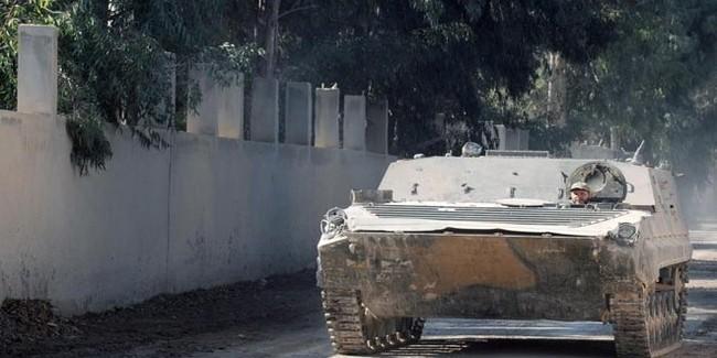 Quân đôi Syria nỗ lực tìm diệt khủng bố trên mọi chiến trường - ảnh 4