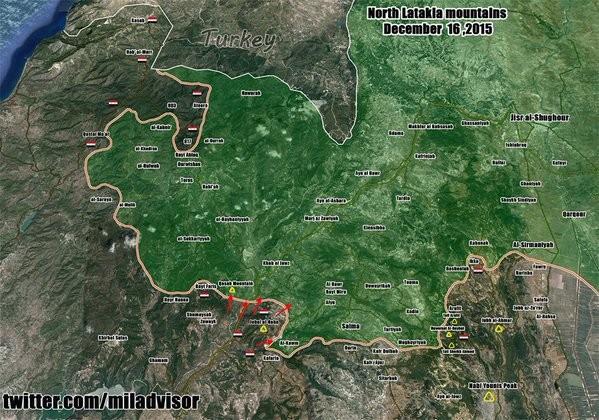 Quân đội Syria đánh ác liệt ở Latakia, tiến được 150 km - ảnh 14