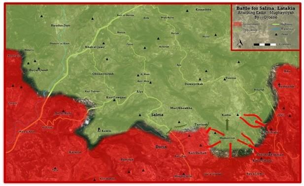 Quân đội Syria chiếm 59 địa bàn quan trọng trong 68 ngày - ảnh 2
