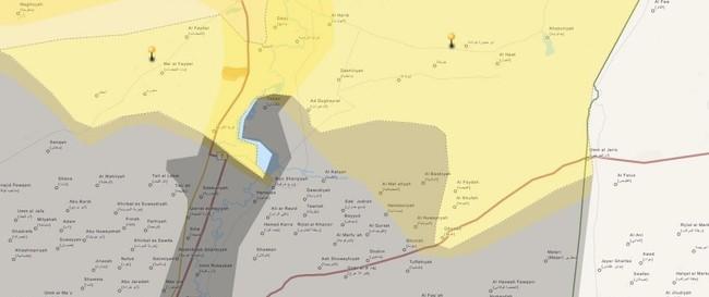 Tấn công với T-90 ở Aleppo, thế phong tỏa biên giới Thổ Nhĩ Kỳ của quân đội Syria rõ dần - ảnh 23