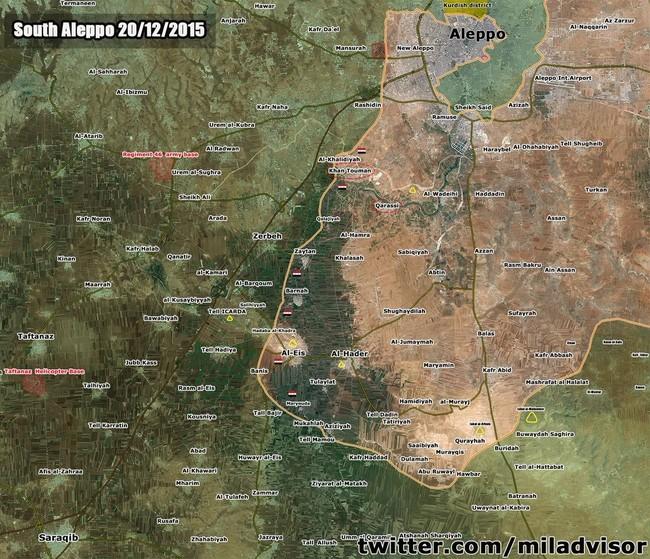 Tấn công với T-90 ở Aleppo, thế phong tỏa biên giới Thổ Nhĩ Kỳ của quân đội Syria rõ dần - ảnh 1