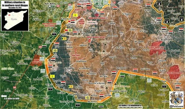 Tấn công với T-90 ở Aleppo, thế phong tỏa biên giới Thổ Nhĩ Kỳ của quân đội Syria rõ dần - ảnh 2