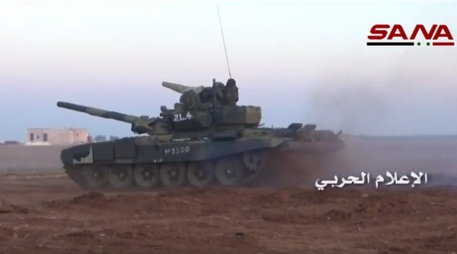 Tấn công với T-90 ở Aleppo, thế phong tỏa biên giới Thổ Nhĩ Kỳ của quân đội Syria rõ dần - ảnh 4