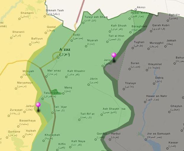 Tấn công với T-90 ở Aleppo, thế phong tỏa biên giới Thổ Nhĩ Kỳ của quân đội Syria rõ dần - ảnh 11