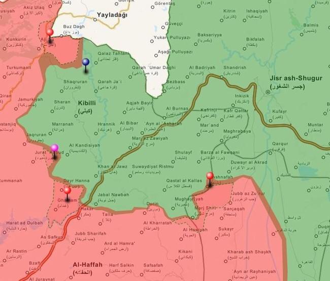 Tấn công với T-90 ở Aleppo, thế phong tỏa biên giới Thổ Nhĩ Kỳ của quân đội Syria rõ dần - ảnh 12