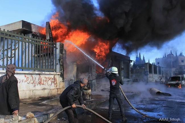 """Syria ác liệt trên khắp các mặt trận, IS """"trảm"""" 50 chiến binh sợ chết - ảnh 2"""