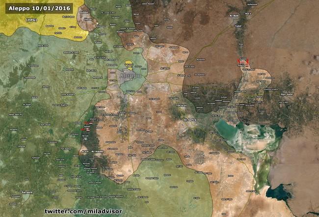 Bão lửa trên chiến trường Syria những ngày đầu năm - ảnh 2