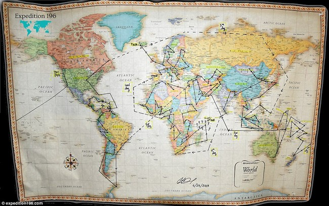 Ngưỡng mộ cô gái đến thăm 180 nước chỉ trong 15 tháng - ảnh 36
