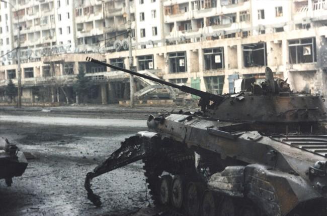 San phẳng mục tiêu, quân đội Nga hủy diệt phiến quân Chechnya  - ảnh 6
