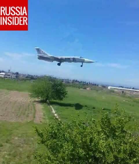 Cận cảnh căn cứ không quân Nga tại Syria (video) - ảnh 4