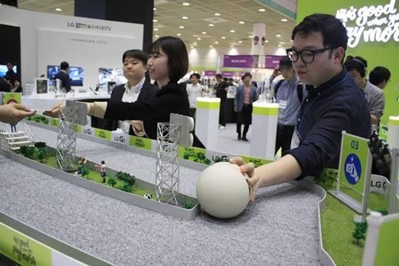Triển lãm công nghệ thông tin lớn nhất Hàn Quốc chính thức khai mạc - ảnh 1
