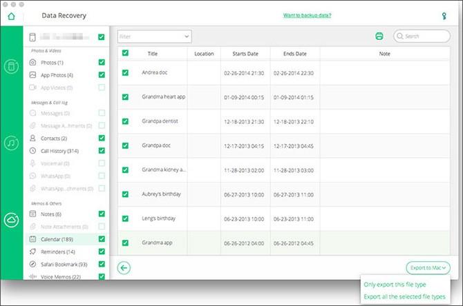 Khôi phục dữ liệu đã mất trên iPhone/iPad với phần mềm iOS Data Recovery - ảnh 10