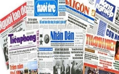 Dấu mốc lịch sử báo chí Việt Nam
