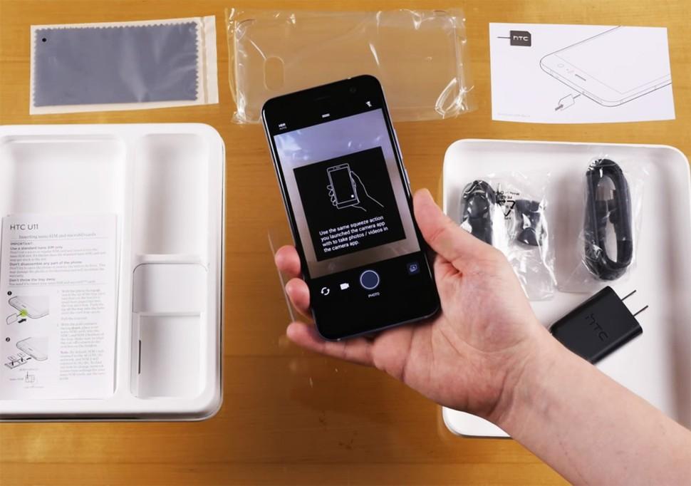 Mở hộp siêu phẩm HTC U 11 - ảnh 12